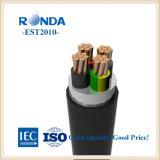 상해 공장 0.6KV Undergroud 케이블 전기 케이블 전기선