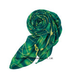 2016熱い販売柔らかいポリエステル卸売の方法スカーフ