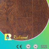 Le film publicitaire 12.3mm E1 HDF AC4 gravé en relief imperméabilisent le plancher stratifié