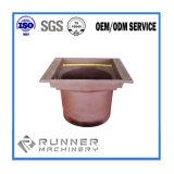 Maquinaria agrícola o la pieza de fundición de hierro dúctil fundición de la caja de velocidades moldeado en arena