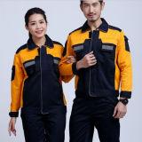 Terno de trabalho industrial e trabalhador de fábrica e uniforme de trabalhador mecânico