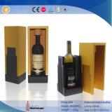 Empaquetado decorativo de lujo divertido caja de regalo de encargo del vino (6329R4)