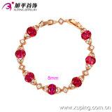 GroßhandelsXuping Formelegantes Zircon-Rosen-Goldfarben-Armband China-