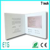 7 cartolina d'auguri di formato della scheda di carta di pollice A5 video
