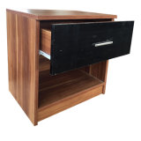 Suporte de monitor de luz nocturna de madeira quarto móveis de Cabeceira
