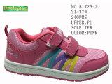 Numéro 51725 la planche à roulettes des chaussures du gosse chausse l'action de Velcro