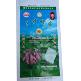 Sachet en plastique tissé par pp résistant d'humidité pour l'agriculture de patates douces