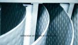 하수 오물의 냉각하고 열회수, 넓은 채널 진창 폐수 열회수 열교환기