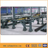 Winkel-lochende Stahlmaschine mit Markierungs-scherender Zeile