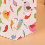Eco personalizada Bolsa de compras de papel Kraft, bolsa de papel Kraft, el papel de estraza bolsa de regalo