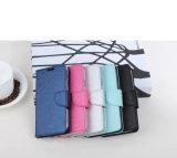 Samsung를 위한 자석 붙어 있던 PU 가죽 지갑 전화 상자