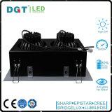 projector da ESPIGA do diodo emissor de luz da lâmpada do risco das cabeças 2*30W dois