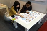 43inch 교육 대화식 전기 용량 접촉 I7 Windows 10 접촉 테이블