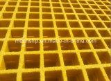 12.7mm高力防蝕の深いX38.1mmの正方形の網のFiberglass/FRPによって形成される格子