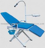 Presidenza paziente mobile dell'unità dentale della presidenza con il di gestione blu-chiaro