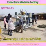 Machine concrète automatique mobile de bloc de ponte d'oeufs de la grande capacité Qmy10-15
