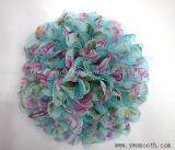 Оптовая торговля моды шифон кружево многоцветные цветы декоративные аксессуары для одежды