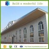Modèle préfabriqué de bâtiments scolaires de structure métallique