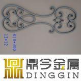 錬鉄の家のゲートデザイン