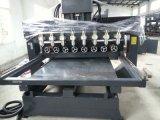 Husos múltiples rotatorios y máquina de grabado plana (FCT-2515C&W-8S)