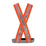Vínculo reflexivo de alta visibilidade Securicity Vest com fita de PVC