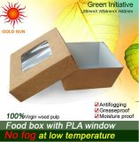 Antifogging Window (K133)를 가진 음식 Box Packaging