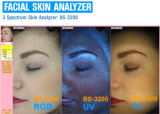 explorador facial del análisis del analizador de la diagnosis de la piel del espejo mágico ULTRAVIOLETA del RGB del pixel 15mega