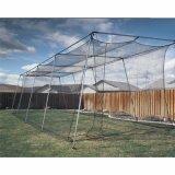 Poli rete e blocco per grafici della gabbia di ovatta di baseball del reticolato Twisted privo di nodi