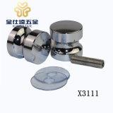 Maniglia di vetro X3111 del perno di portello del perno di portello dell'acquazzone dell'acciaio inossidabile