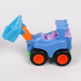 هندسة شاحنة عربة سيارة بلاستيك لعبة