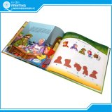 プリントカラーハードカバーの物語の児童図書