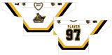Liga de Hóquei de Ontário personalizados North Bay Centennials 1995-2001 Home/ Rua/ Suplente Hóquei no Gelo camisolas