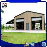 Structure métallique légère pré fabriquée pour le garage en métal