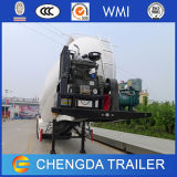 バルクセメント力の空気圧縮機が付いている物質的な輸送の半トレーラー