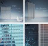 Signe HD LED en verre transparent
