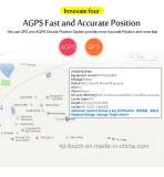 2018 Novo desenvolvido 3G Rastreador veicular GPS com Alarme Sos T207