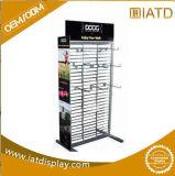 Surgir el estante de visualización del supermercado del almacenaje de la pared del alambre de metal