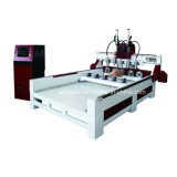 切り分けるか、または切れるか、またはあく木製の家具のためのカスタマイズされたマルチヘッド木工業CNCの彫刻家機械