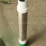 L'uso di perforazione del pozzo d'acqua di buona qualità preimballa lo schermo del fondo del tubo dello schermo