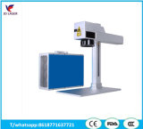 Máquina da marcação do laser da fibra para o metal, relógios, câmera, peças de automóvel, curvaturas