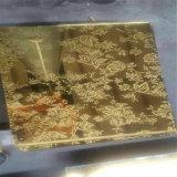 UV pour la maison de verre d'impression de la soie