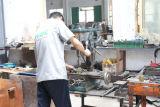 Одиночный крюк Pegboard индикации металла Prong