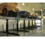 Levage automatique de stationnement de véhicule de véhicule de poste du cylindre hydraulique deux de la CE 2300-3200kgs de marque de Gg