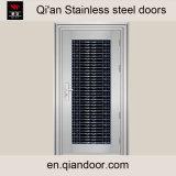 主要な部屋の前ドアのステンレス鋼の機密保護のドアデザイン