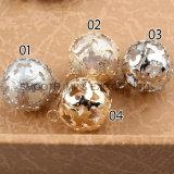 Mode perle ronde plaqué or Bijoux de Creuse Diamond Accessoires de la poignée de commande