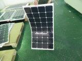 Ранг высокой эффективности панель солнечных батарей 100W Sunpower клетки гибкая
