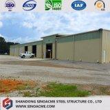 Bonne construction commerciale préfabriquée modulaire de structure métallique de décoration