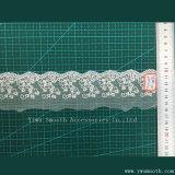 Großhandelsform-weiße Baumwollnähendes Stickerei-Maschinen-Spitze-Ordnungs-Gewebe