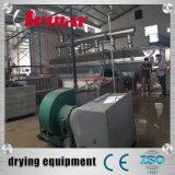 Alta eficiência vibratório de camada única máquina de secagem do leito de Vácuo contínuo