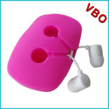 完全な音が付いている新しい流行のフラットケーブルのイヤホーンのヘッドセット